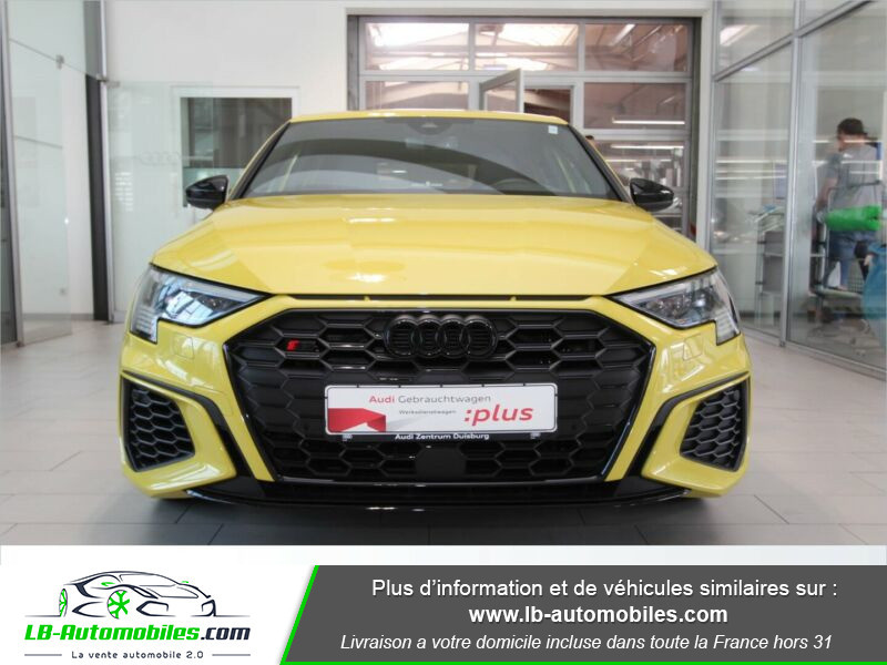 Audi S3 Sportback TFSI 310 S tronic Jaune occasion à Beaupuy - photo n°20