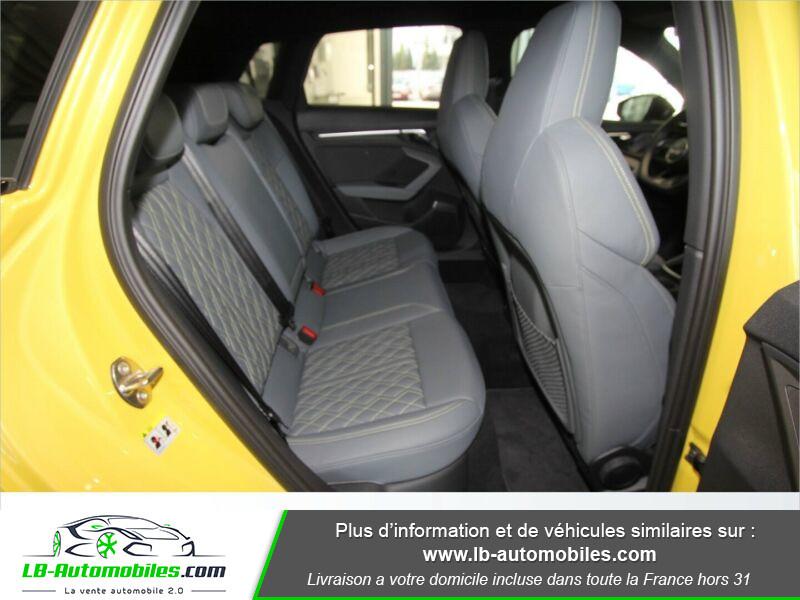 Audi S3 Sportback TFSI 310 S tronic Jaune occasion à Beaupuy - photo n°14