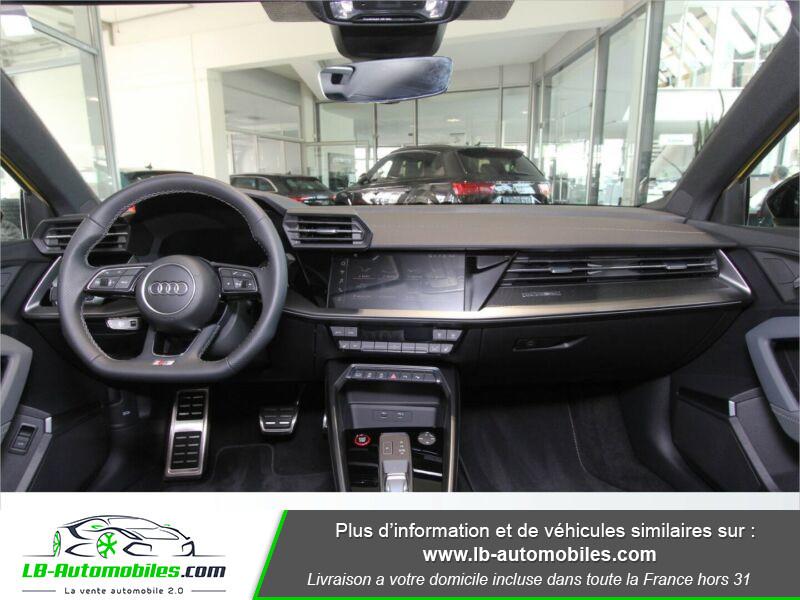 Audi S3 Sportback TFSI 310 S tronic Jaune occasion à Beaupuy - photo n°2
