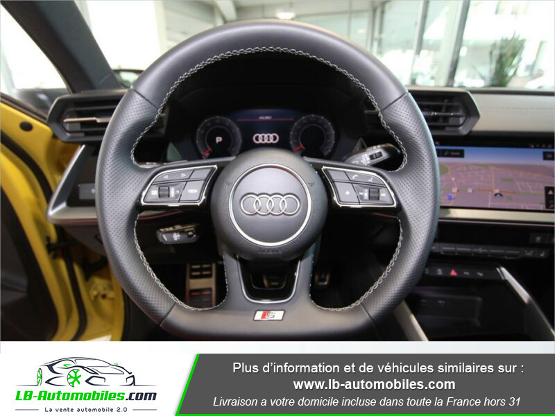 Audi S3 Sportback TFSI 310 S tronic Jaune occasion à Beaupuy - photo n°11