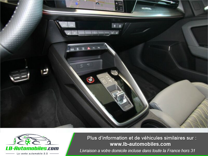 Audi S3 Sportback TFSI 310 S tronic Jaune occasion à Beaupuy - photo n°10