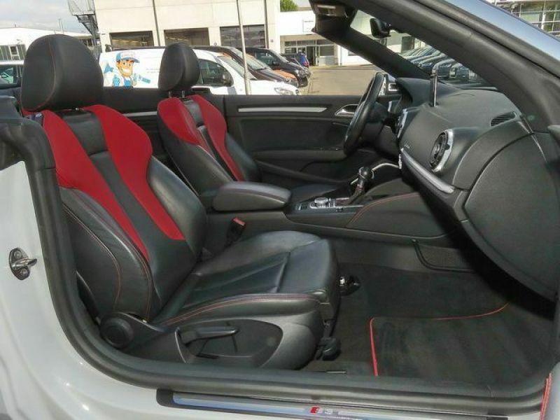 Audi S3 2.0 TFSI 300 Cabriolet Blanc occasion à Beaupuy - photo n°5