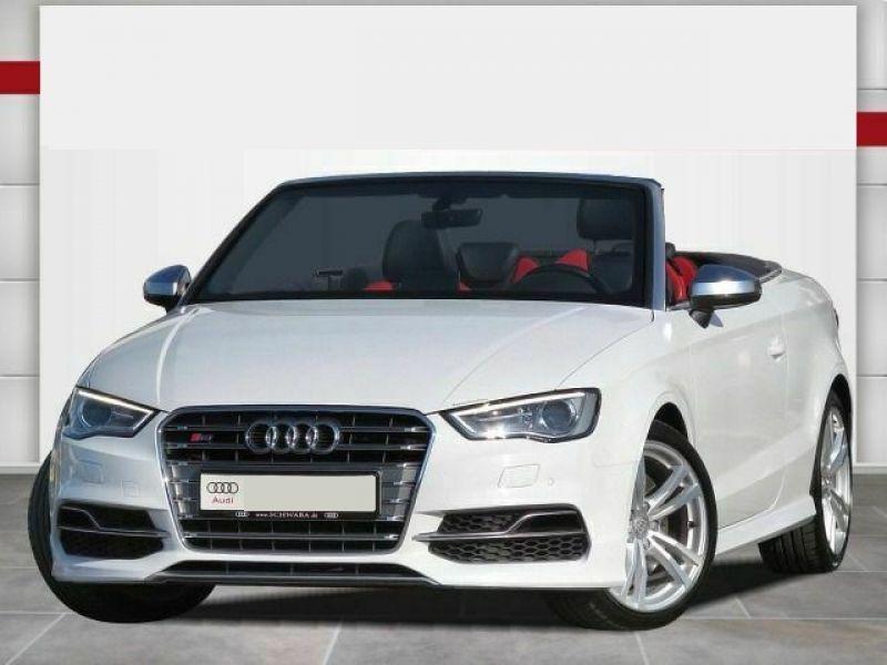 Audi S3 2.0 TFSI 300 Cabriolet Blanc occasion à Beaupuy