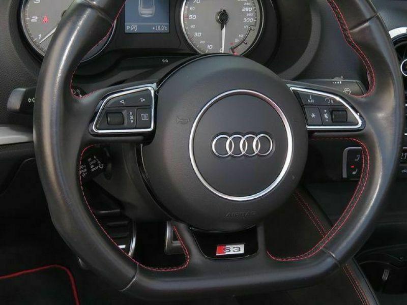Audi S3 2.0 TFSI 300 Cabriolet Blanc occasion à Beaupuy - photo n°9