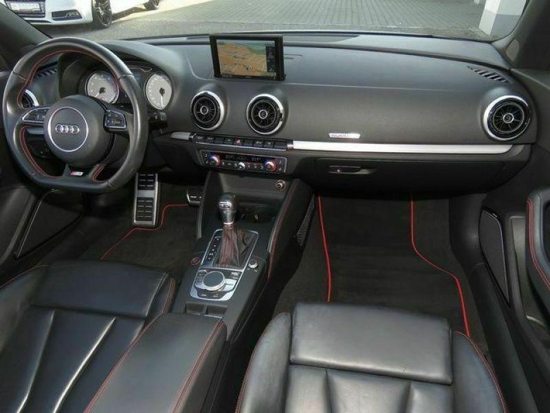Audi S3 2.0 TFSI 300 Cabriolet Blanc occasion à Beaupuy - photo n°2