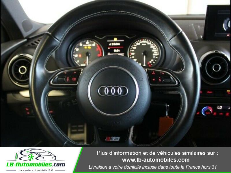 Audi S3 2.0 TFSI 300 / Quattro Noir occasion à Beaupuy - photo n°8