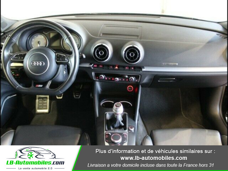 Audi S3 2.0 TFSI 300 / Quattro Noir occasion à Beaupuy - photo n°2