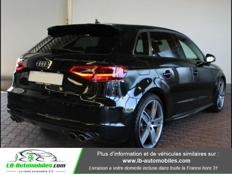 Audi S3 2.0 TFSI 300 / Quattro Noir occasion à Beaupuy - photo n°3