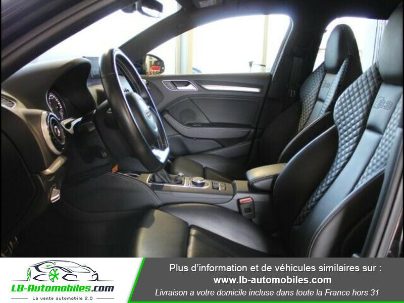 Audi S3 2.0 TFSI 300 / Quattro Noir occasion à Beaupuy - photo n°14