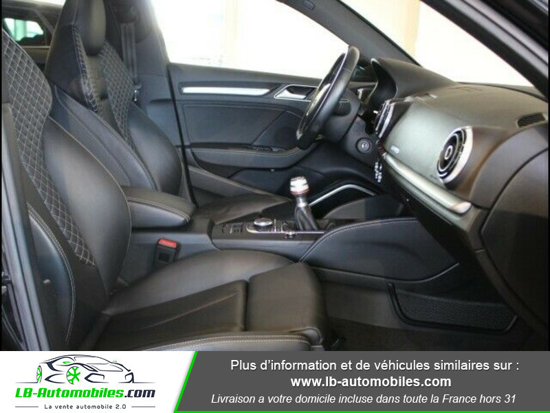 Audi S3 2.0 TFSI 300 / Quattro Noir occasion à Beaupuy - photo n°4