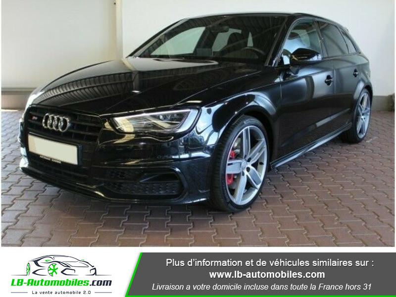 Audi S3 2.0 TFSI 300 / Quattro Noir occasion à Beaupuy