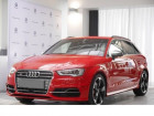 Audi S3 2.0 TFSI 300 Sportback Rouge à Beaupuy 31
