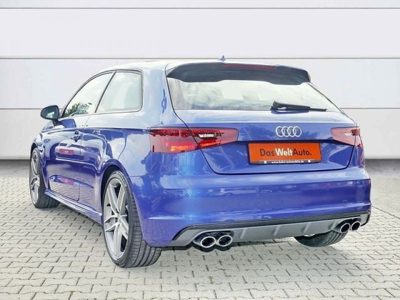 Audi S3 2.0 TFSI 300 Bleu occasion à Beaupuy - photo n°3