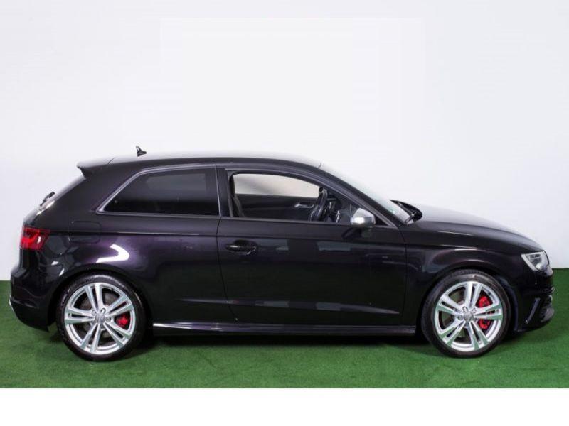 Audi S3 2.0 TFSI 300 Noir occasion à Beaupuy - photo n°8
