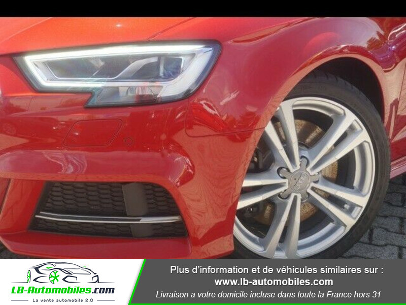 Audi S3 2.0 TFSI 310 S tronic 7 Quattro Rouge occasion à Beaupuy - photo n°11