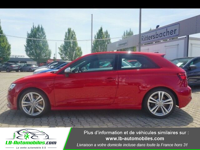 Audi S3 2.0 TFSI 310 S tronic 7 Quattro Rouge occasion à Beaupuy - photo n°12