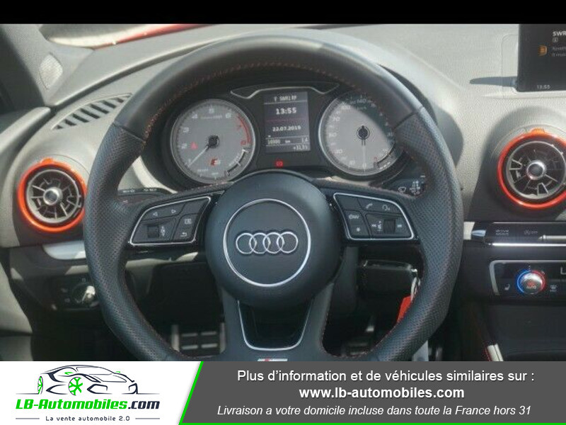 Audi S3 2.0 TFSI 310 S tronic 7 Quattro Rouge occasion à Beaupuy - photo n°9