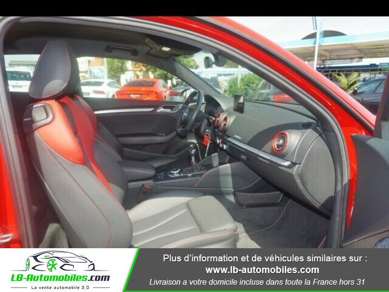 Audi S3 2.0 TFSI 310 S tronic 7 Quattro Rouge occasion à Beaupuy - photo n°4