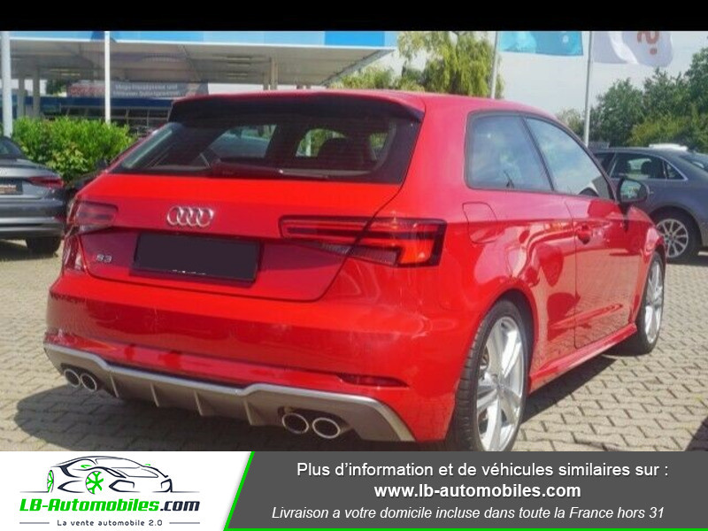 Audi S3 2.0 TFSI 310 S tronic 7 Quattro Rouge occasion à Beaupuy - photo n°3