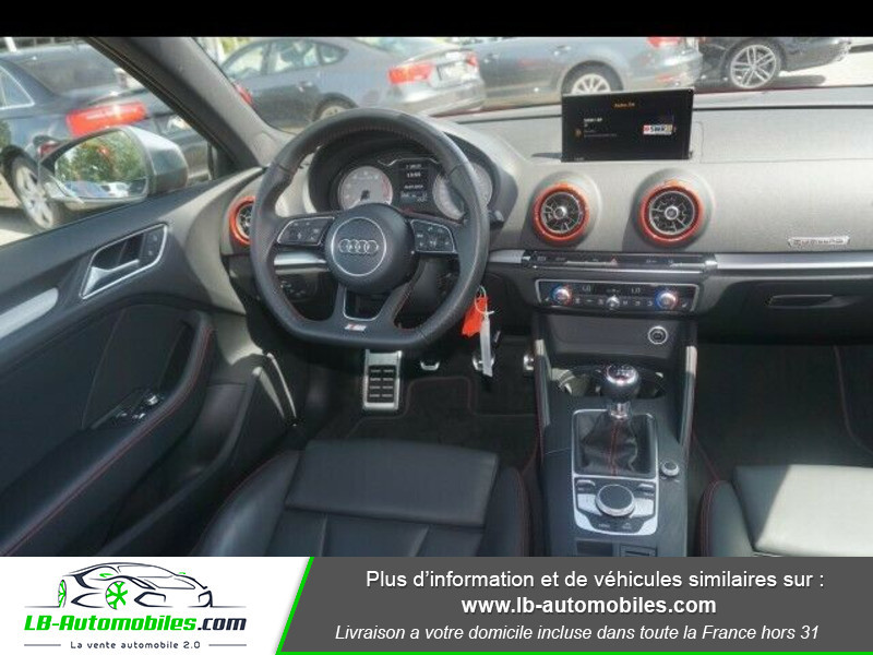 Audi S3 2.0 TFSI 310 S tronic 7 Quattro Rouge occasion à Beaupuy - photo n°8