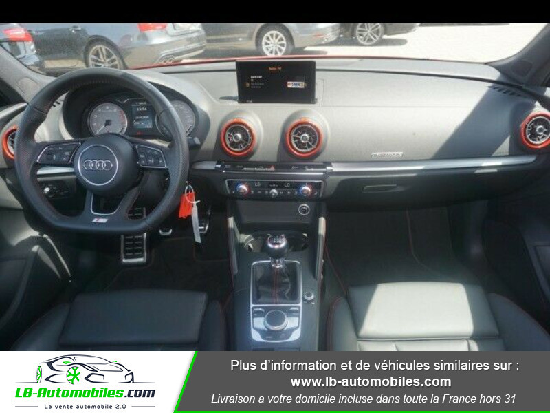 Audi S3 2.0 TFSI 310 S tronic 7 Quattro Rouge occasion à Beaupuy - photo n°2