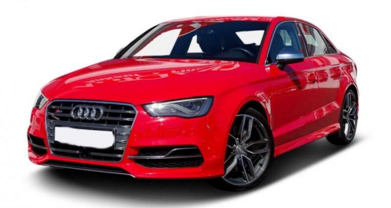 Audi S3 Berline 2.0 TFSI 300ch quattro S tronic 6 Rouge occasion à Boulogne-Billancourt