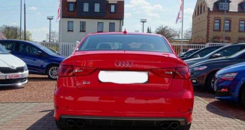 Audi S3 Berline 2.0 TFSI 300ch quattro S tronic 6 Rouge occasion à Boulogne-Billancourt - photo n°3