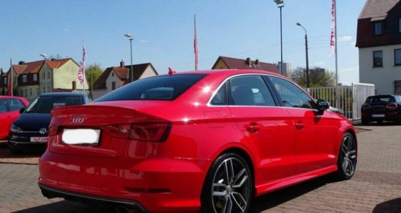 Audi S3 Berline 2.0 TFSI 300ch quattro S tronic 6 Rouge occasion à Boulogne-Billancourt - photo n°4