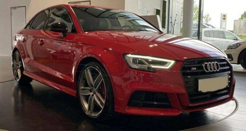 Audi S3 Berline III 2.0 TFSI 310ch Q S tronic 7 Rouge occasion à Boulogne-Billancourt - photo n°3