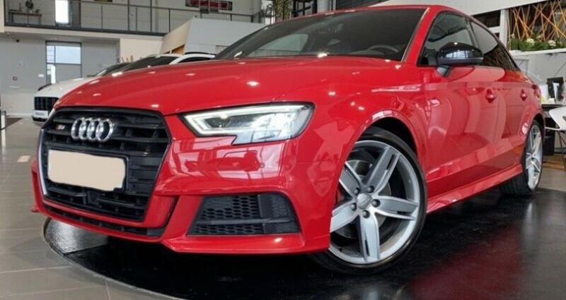 Audi S3 Berline III 2.0 TFSI 310ch Q S tronic 7 Rouge occasion à Boulogne-Billancourt