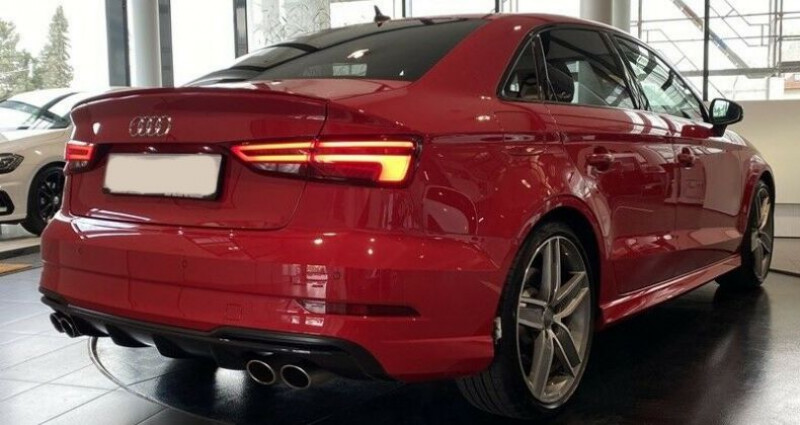 Audi S3 Berline III 2.0 TFSI 310ch Q S tronic 7 Rouge occasion à Boulogne-Billancourt - photo n°6