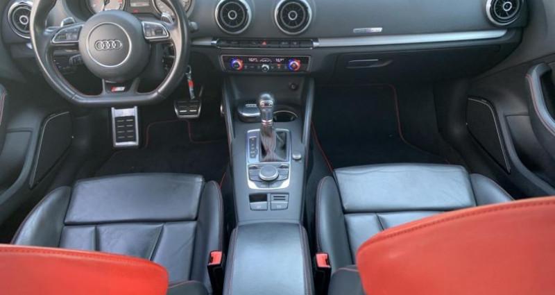Audi S3 Quattro 2.0 tfsi 300 cv S-tronic Full Noir occasion à Meylan - photo n°3