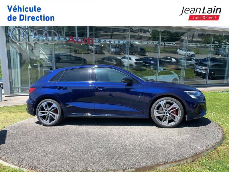 Audi S3 S3 Sportback 53 TFSI 310 S tronic 7 Quattro  5p Bleu occasion à La Motte-Servolex - photo n°4