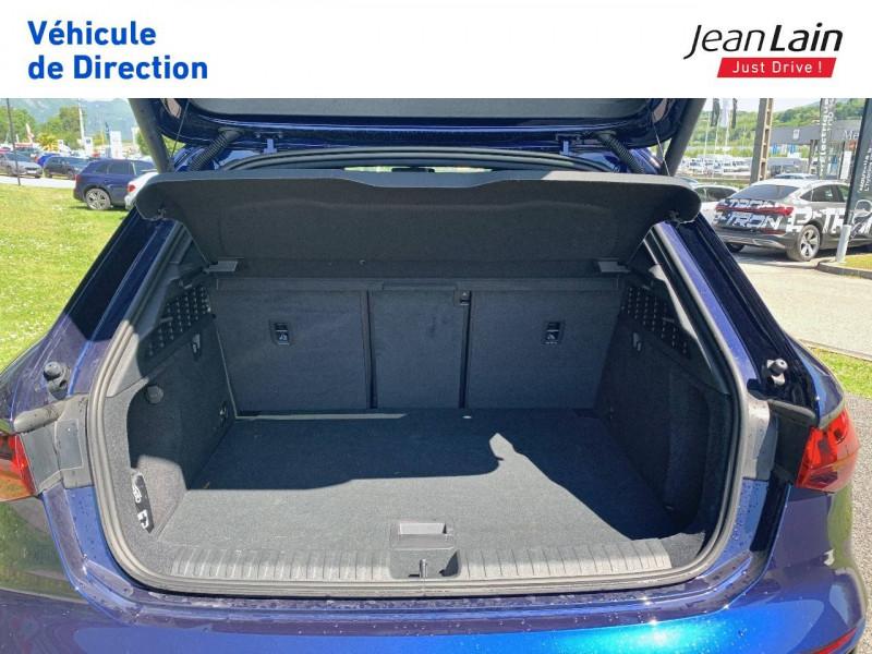 Audi S3 S3 Sportback 53 TFSI 310 S tronic 7 Quattro  5p Bleu occasion à La Motte-Servolex - photo n°10