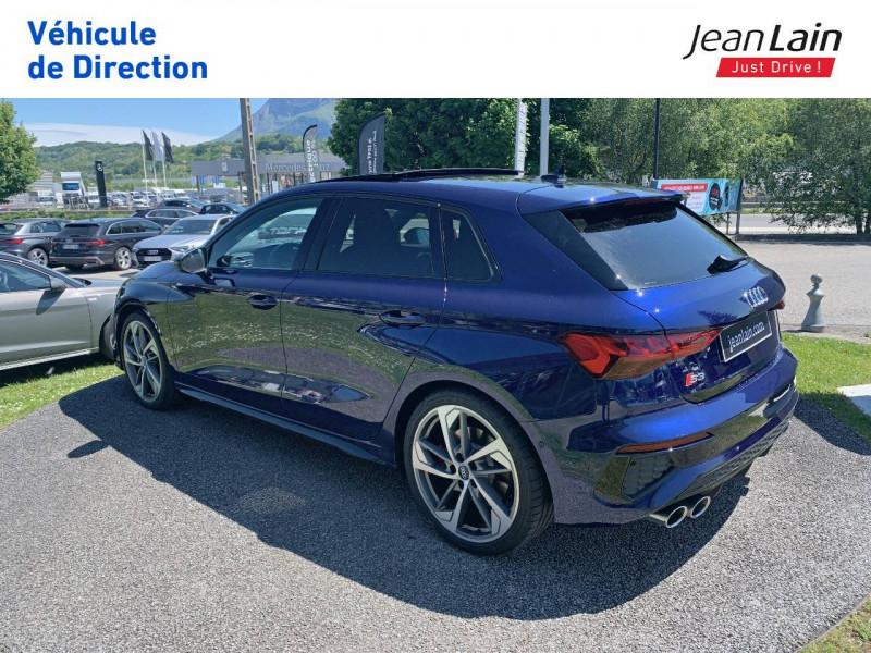 Audi S3 S3 Sportback 53 TFSI 310 S tronic 7 Quattro  5p Bleu occasion à La Motte-Servolex - photo n°7