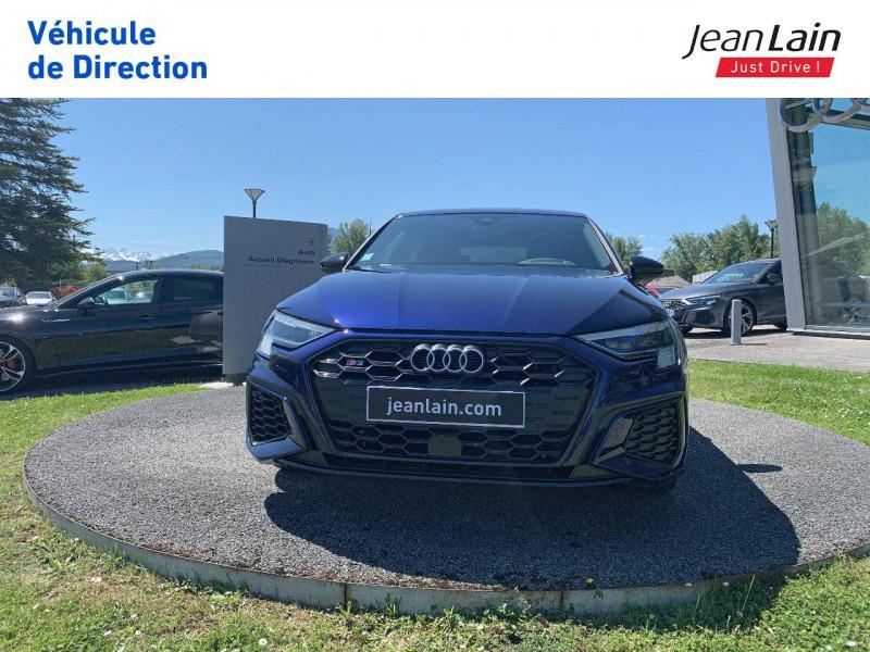 Audi S3 S3 Sportback 53 TFSI 310 S tronic 7 Quattro  5p Bleu occasion à La Motte-Servolex - photo n°2