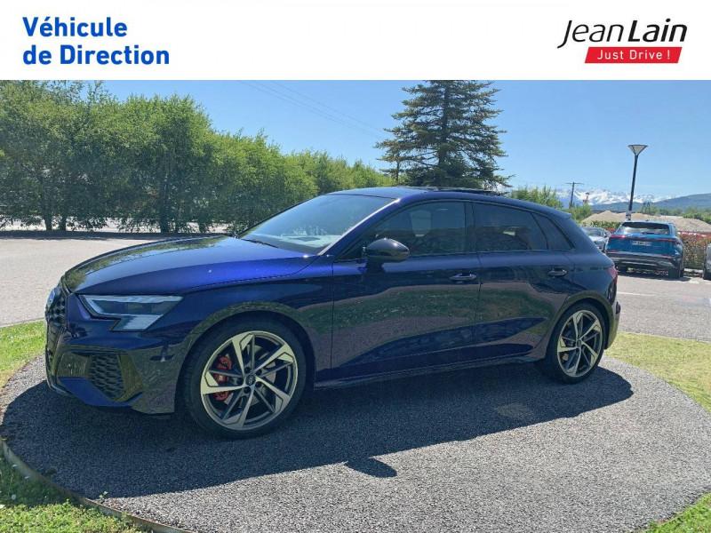Audi S3 S3 Sportback 53 TFSI 310 S tronic 7 Quattro  5p Bleu occasion à La Motte-Servolex