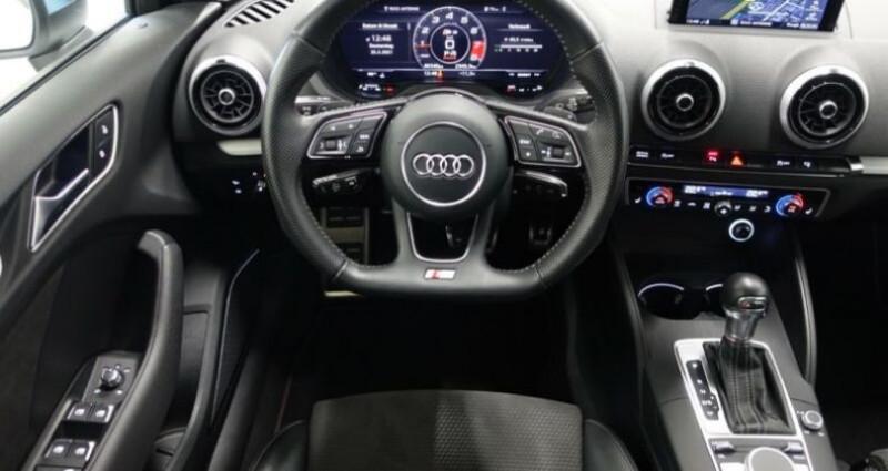 Audi S3 Sportback 2.0 TFSI 310ch quattro S tron 7 Noir occasion à Boulogne-Billancourt - photo n°7