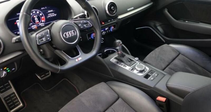 Audi S3 Sportback 2.0 TFSI 310ch quattro S tron 7 Noir occasion à Boulogne-Billancourt - photo n°4