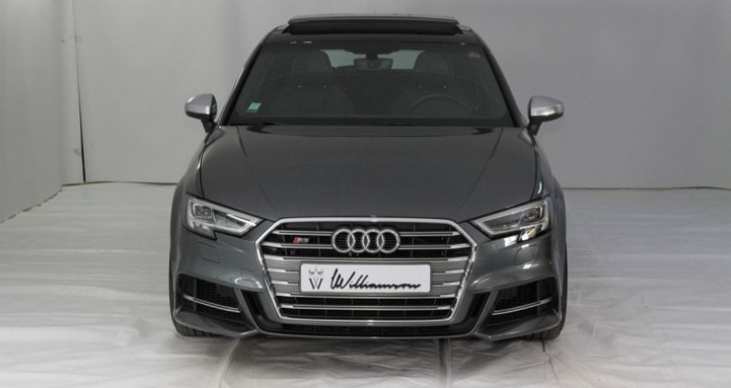 Audi S3 sportback quattro 310cv tbe Gris occasion à Neuilly Sur Seine - photo n°2