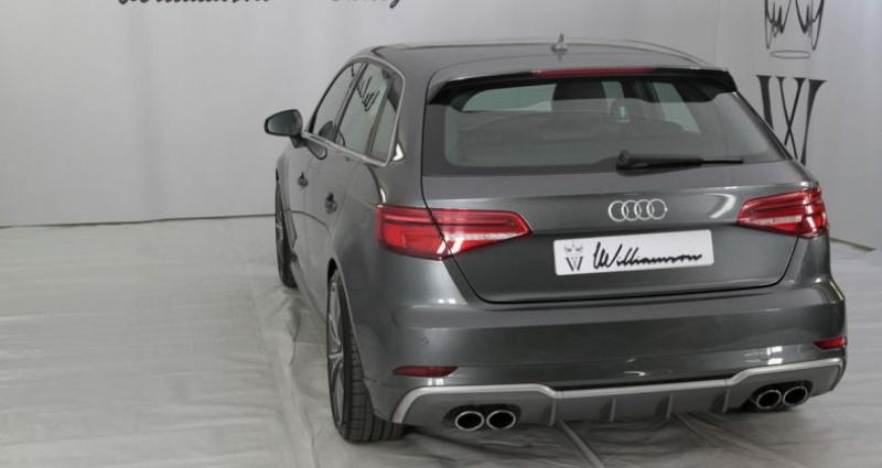 Audi S3 sportback quattro 310cv tbe Gris occasion à Neuilly Sur Seine - photo n°6