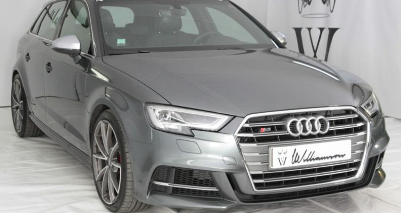 Audi S3 sportback quattro 310cv tbe Gris occasion à Neuilly Sur Seine - photo n°3