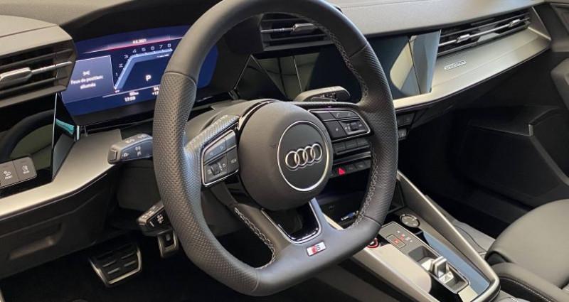Audi S3 SPORTBACK Sportback 53 TFSI 310 S tronic 7 Quattro Gris occasion à Saint-Ouen - photo n°7