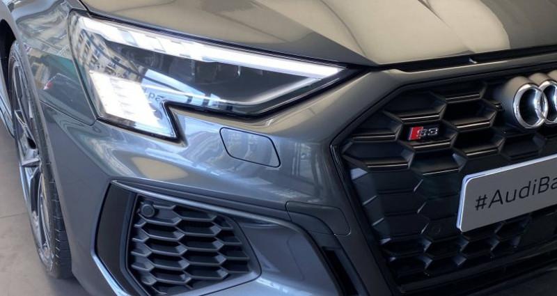 Audi S3 SPORTBACK Sportback 53 TFSI 310 S tronic 7 Quattro Gris occasion à Saint-Ouen - photo n°2