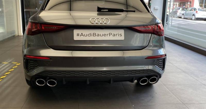 Audi S3 SPORTBACK Sportback 53 TFSI 310 S tronic 7 Quattro Gris occasion à Saint-Ouen