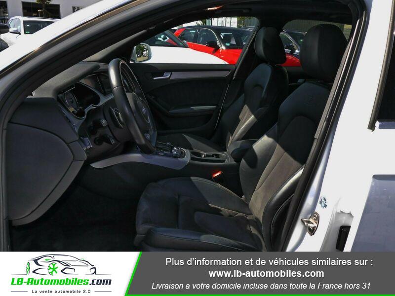 Audi S4 V6 3.0 TFSI 333 / Quattro S-Tronic Blanc occasion à Beaupuy - photo n°9