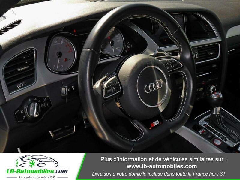 Audi S4 V6 3.0 TFSI 333 / Quattro S-Tronic Blanc occasion à Beaupuy - photo n°5