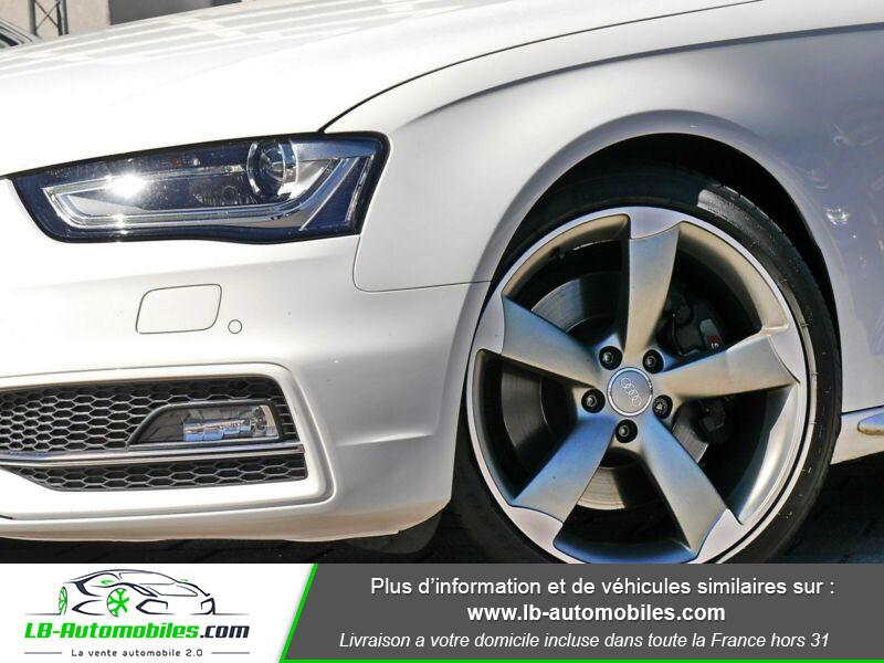 Audi S4 V6 3.0 TFSI 333 / Quattro S-Tronic Blanc occasion à Beaupuy - photo n°10