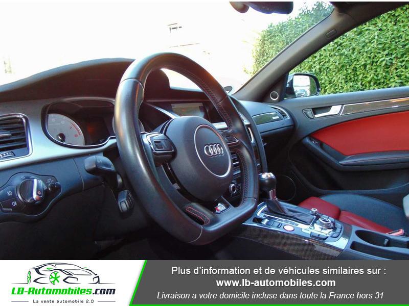 Audi S4 V6 3.0 TFSI 354 Tiptronic 8 Quattro Noir occasion à Beaupuy - photo n°6