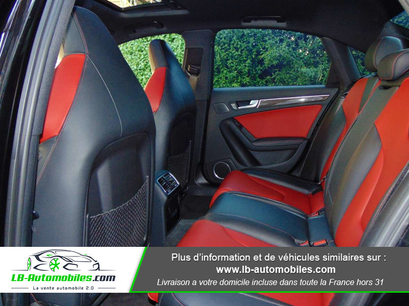 Audi S4 V6 3.0 TFSI 354 Tiptronic 8 Quattro Noir occasion à Beaupuy - photo n°7